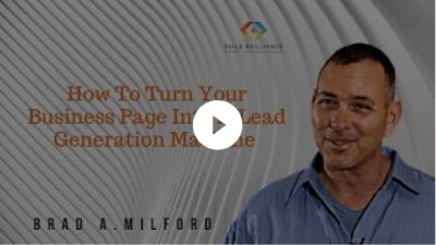 How To Turn Your Business Page Into A Lead Generating Machine