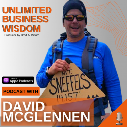 Episode #40 How To Build Company Culture To Create Competitive Advantage with David McGlennen