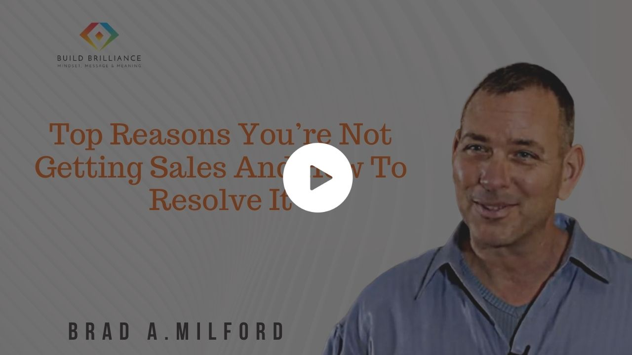 PB - Top Reasons You're Not Getting Sales And How To Resolve It