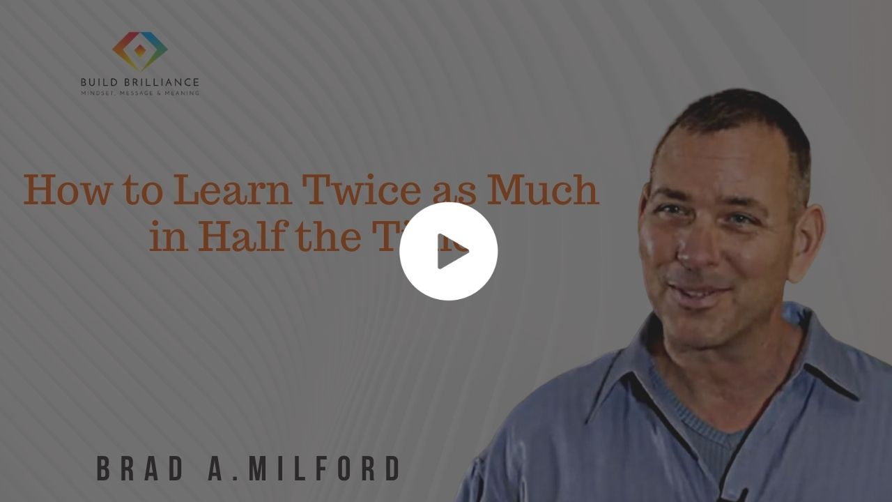 PB - How to Learn Twice as Much in Half the Time