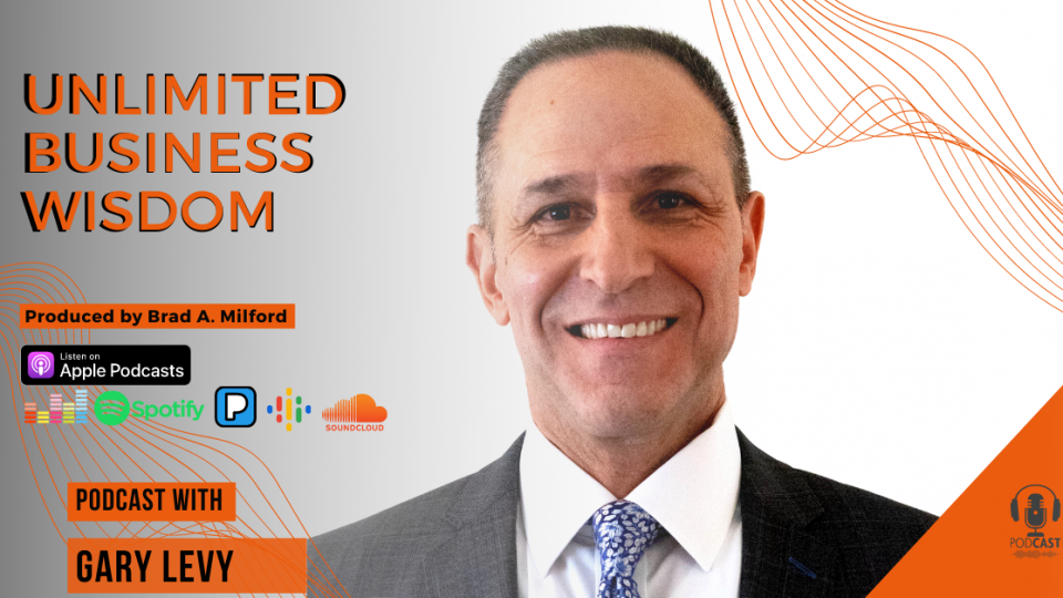 Episode #62  How To Plan Your Week and Show Up Strong In Business With Gary Levy